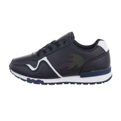 Sneakers low für Damen in Schwarz und Blau
