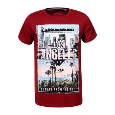 T-Shirt für Herren in Rot