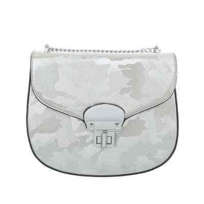 Kleine Damen Tasche Silber