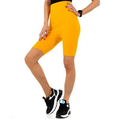 High Waist Shorts für Damen in Orange