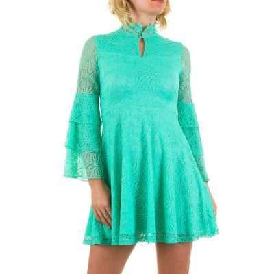 Minikleid für Damen in Türkis