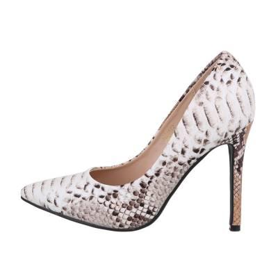 High Heel Pumps für Damen in Beige und Braun