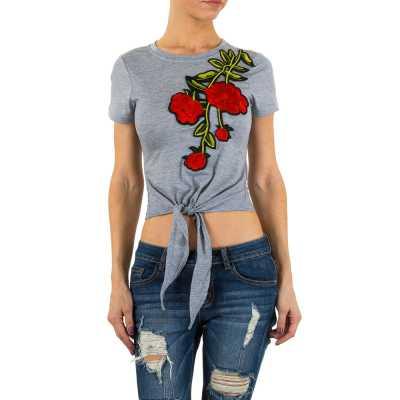 T-Shirt für Damen in Grau