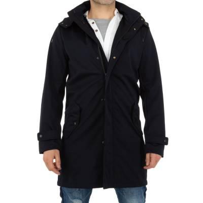 Mantel für Herren in Blau