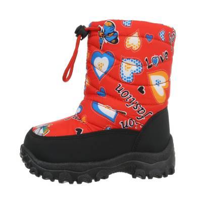 Stiefel für Kinder in Rot