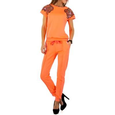 Jogging- & Freizeitanzug für Damen in Orange