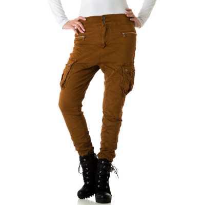 Boyfriend Jeans für Damen in Braun