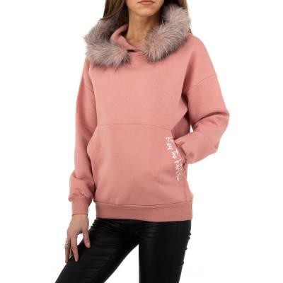 Sweatshirt für Damen in Rosa