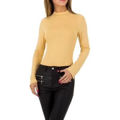 Body für Damen in Gelb