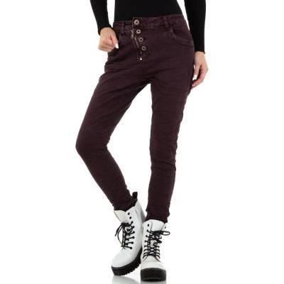 Günstige Damen Jeans lila in 34, 36, 38, 40, 42 online einkaufen