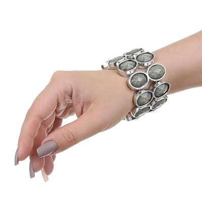 Armband für Damen in Grau