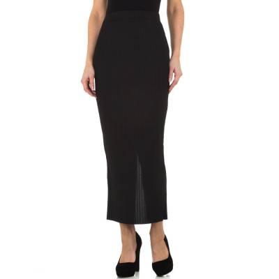 Maxirock für Damen in Schwarz
