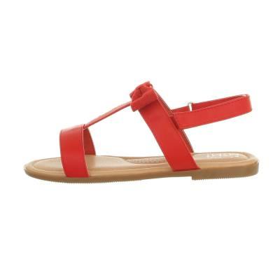 Sandalen für Kinder in Rot