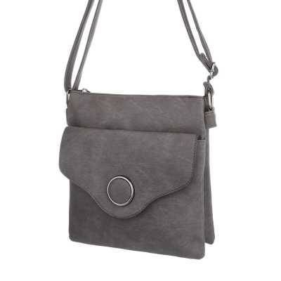 Kleine Damen Tasche Braun Grau