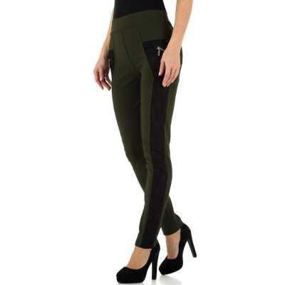 Skinny-Hose für Damen in Grün