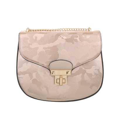 Kleine Damen Tasche Rosa Gold