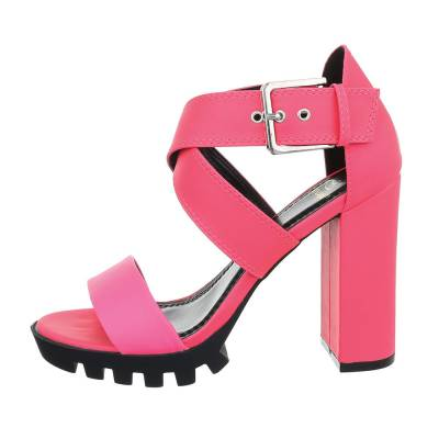 High Heel Sandaletten für Damen in Pink