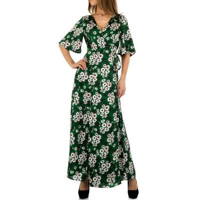 Maxikleid für Damen in Grün