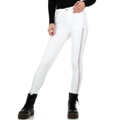 Skinny Jeans für Damen in Weiß