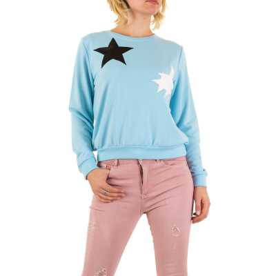 Sweatshirt für Damen in Blau