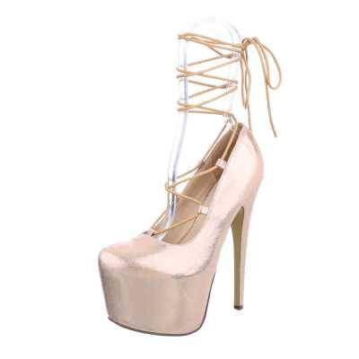 High Heel Pumps für Damen in Beige