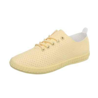 Sneakers low für Damen in Gelb