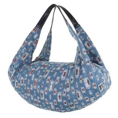 übergroße Damen Tasche Blau