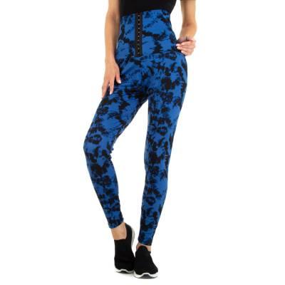 Klassische Leggings für Damen in Blau
