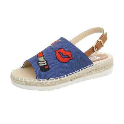 Sandalen & Sandaletten für Damen in Blau