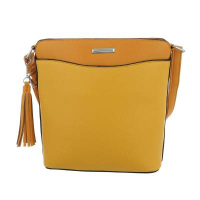 Schultertasche für Damen in Gelb