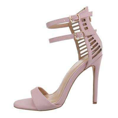 High Heel Sandaletten für Damen in Rosa