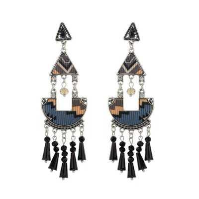 Ohrringe für Damen in Schwarz