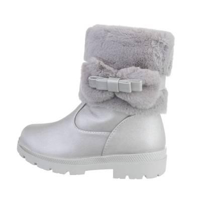 Stiefel für Kinder in Grau