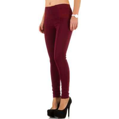 High Waist Jeans für Damen in Rot