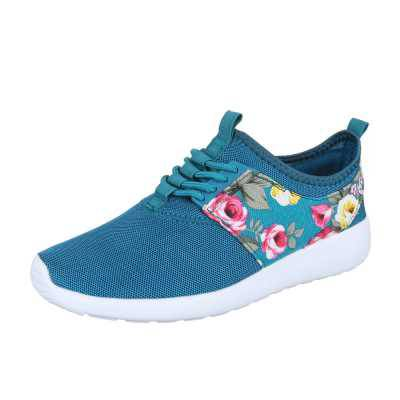 Sneakers low für Damen in Türkis