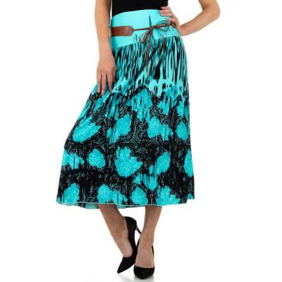 Maxirock für Damen in Blau