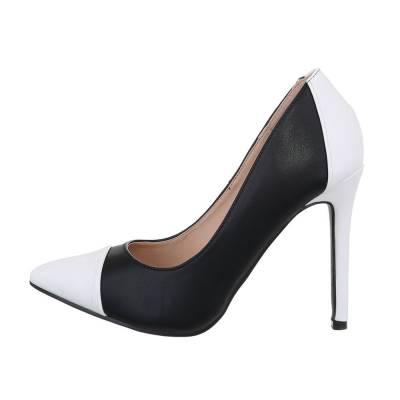 High Heel Pumps für Damen in Schwarz und Weiß