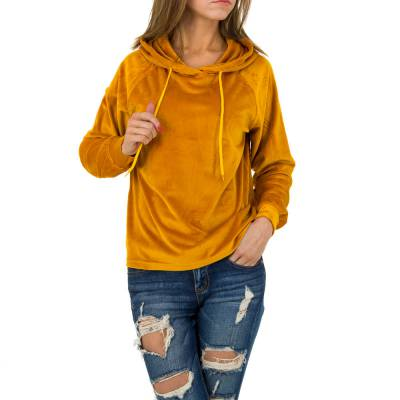 Sweatshirt für Damen in Orange