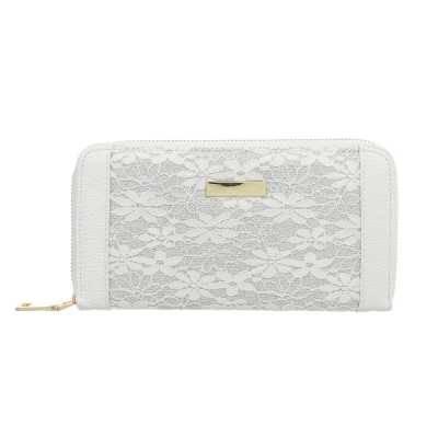 Geldbörse für Damen in Weiß