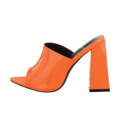 High Heel Sandaletten für Damen in Orange