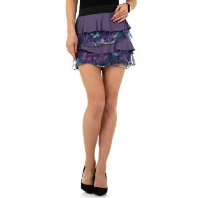 Minirock für Damen in Lila