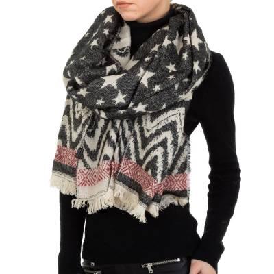 Schal für Damen in Schwarz