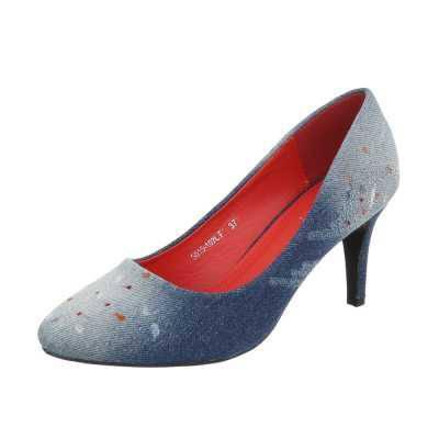 High Heel Pumps für Damen in Blau