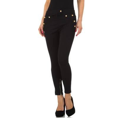 Skinny-Hose für Damen in Schwarz