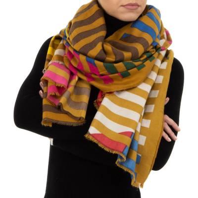 Schal für Damen in Gelb