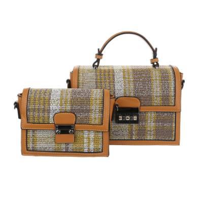 Handtasche für Damen in Gelb