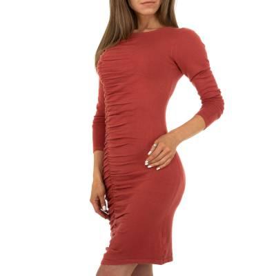 Stretchkleid für Damen in Rot