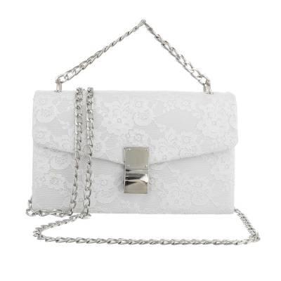 Abendtasche für Damen in Weiß