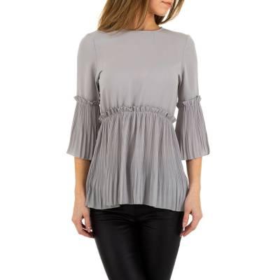 Bluse für Damen in Grau