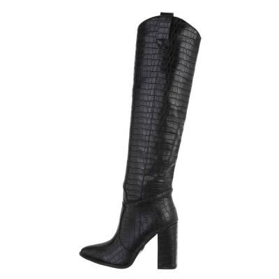 High Heel Stiefel für Damen in Schwarz